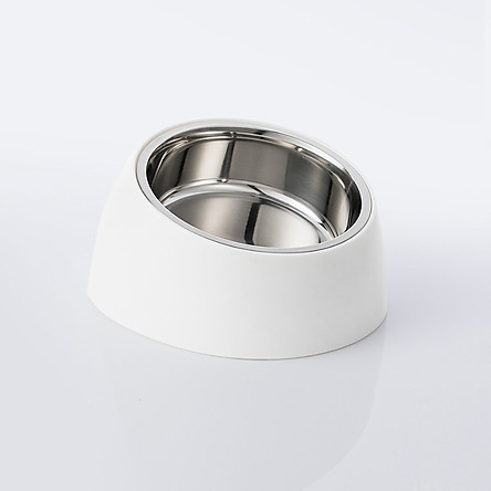 Xiaomi Stainless Steel Pet Bowl Anti-Slip Cat Dog Dish Tilted Pet Feeder Double Bowls With Slope Base Suitable For Most