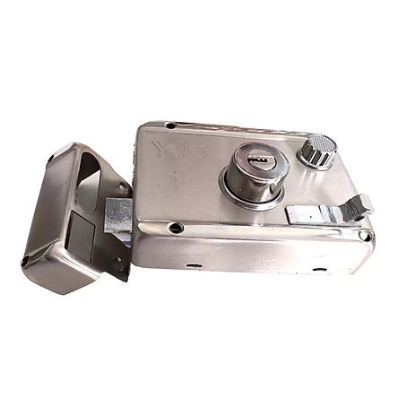 Khóa cửa cổng 2 đầu chìa Backet 60mm Yale R5122.60US32D
