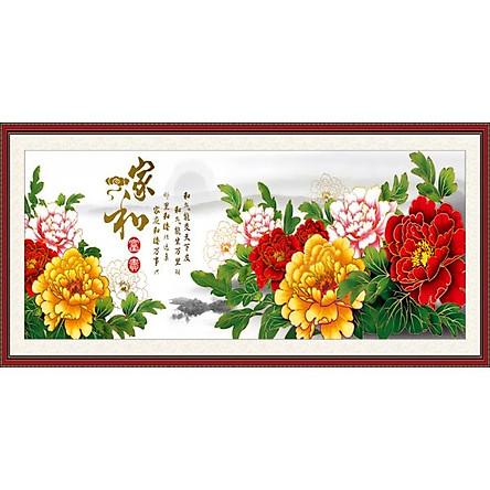 Tranh Treo Hoa Mẫu Đơn - MD064