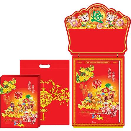 Lịch Bloc Gia Vũ Siêu Đại (20x30 cm) - Tân Niên Phú Quý