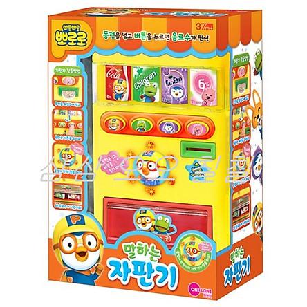 Talking vending machine Pororo toy mart play shopping game