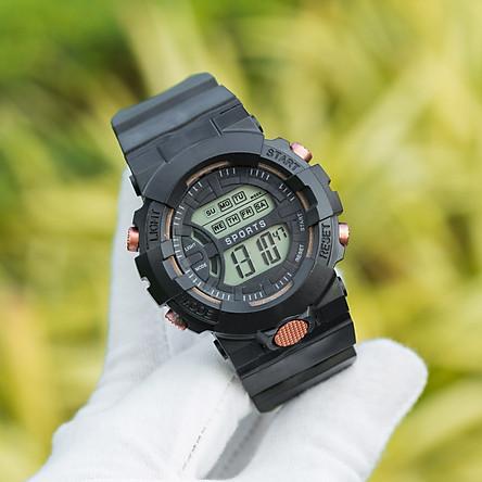 Đồng hồ điện tử thể thao nam nữ PAGINI phong cách Hàn Quốc khỏe khắn – - Đèn led xem giờ ban đêm - Đa chức năng báo thức – Hiển thị lịch ngày giờ thứ - WA000002