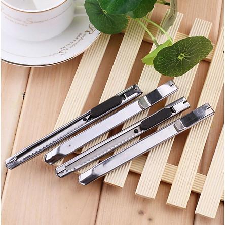 Combo 4 dao rọc giấy mini nhỏ gọn dùng cho văn phòng