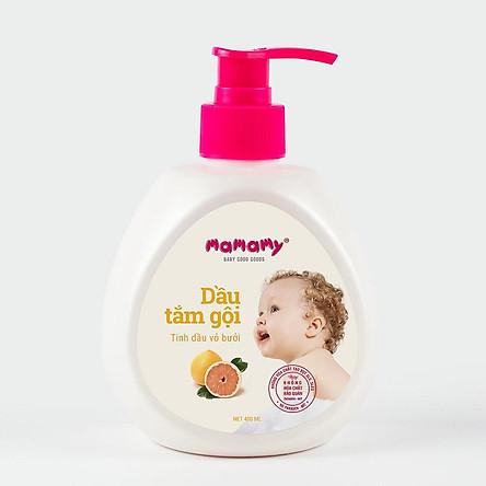 Dầu Tắm Gội Thiên Nhiên Mamamy 400ml