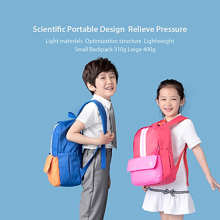 Xiaomi Youpin  Xiaoxun Children Shoulder Strap Backpack School Bag Light Weight Sturdy Resistant Waterproof Rucksack