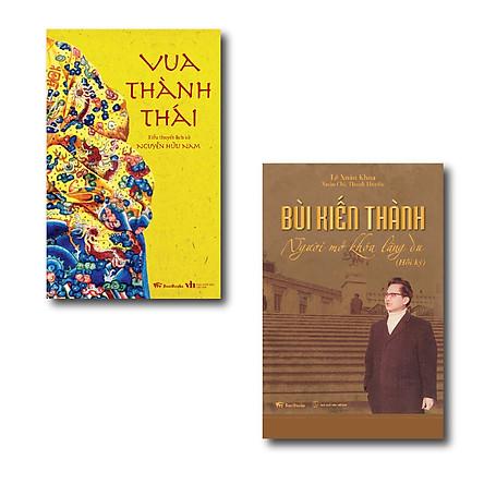 Combo Vua Thành Thái ( Tiểu Thuyết Lịch Sử) + Bùi Kiến Thành : Người Mở Khóa Lãng Du