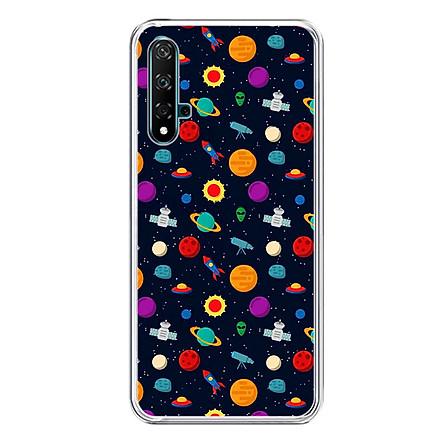 Ốp Lưng Dẻo Cho Điện Thoại Huawei Nova 5T - 01283 0129 SPACE05 - Hàng Chính Hãng