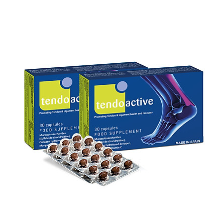 2 Hộp TENDOACTIVE - Thực phẩm Bảo vệ sức khỏe gân & dây chằng