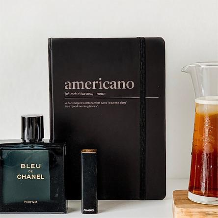 Sổ tay Crabit Notebuck Coffeeine - Espresso ruột  Dotgrid 180 trang (14.5 x 20.8 cm)