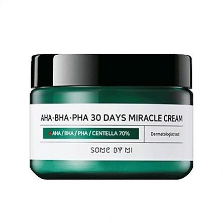 Kem Dưỡng Giảm Mụn Some By Mi AHA-BHA-PHA 30 Days Miracle Cream 50ml