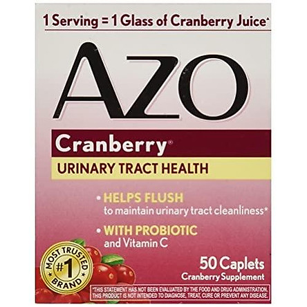 AZO Cranberry Tablets, 50 Count  (packaging may vary)