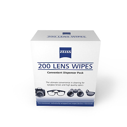 Zeiss Professional Optical Lens Paper Lens Paper Lens Camera Lens Cleaning wipes 200 pieces