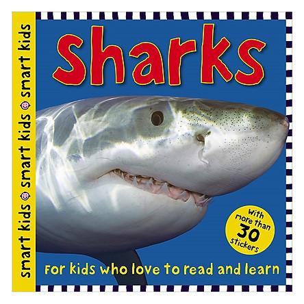 Smart Kids Sticker Sharks - Smart Kids Sticker Books