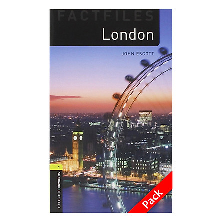 Oxford Bookworms Library (3 Ed.) 1: London Factfile Audio CD Pack