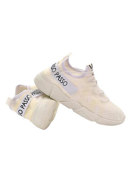 Giày Thể Thao Nữ Hàn Quốc Passo GTK037 - Trắng