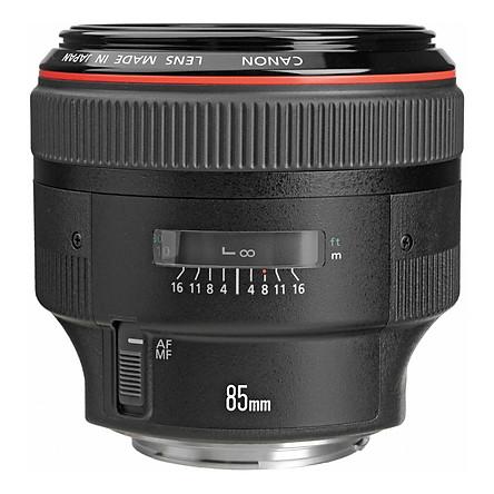 Lens Canon EF 85mm f/1.2 L II USM - Hàng Chính Hãng