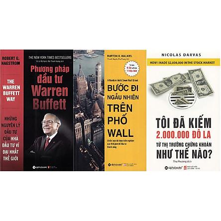 Combo Đầu Tư Thành Công ( Phương Pháp Đầu Tư Warren Buffett + Bước Đi Ngẫu Nhiên Trên Phố Wall + Tôi Đã Kiếm Được 2.000.000 Đô-La Từ Thị Trường Chứng Khoán Như Thế Nào? ) (Tặng Tickbook đặc biệt)