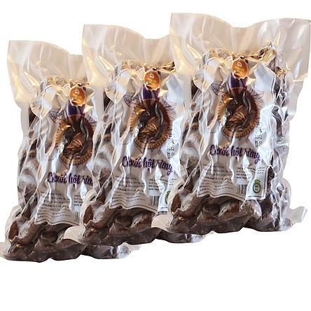 Combo 3kg Chuối Hột Rừng Bóc Vỏ Sấy Khô (mỗi túi 1kg) - Nông Sản Vàng
