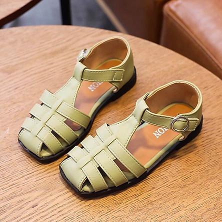 giày lười bé gái kiểu dây