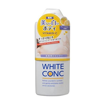 Sữa Tắm White Conc Body Nhật Bản Dưỡng Da Trắng Hồng, 360ml