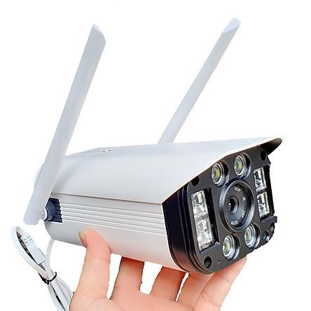 Camera Wifi IP Ngoài trời 8 đèn 3.0mpx FULL HD 1080P cực nét - Hàng Nhập Khẩu