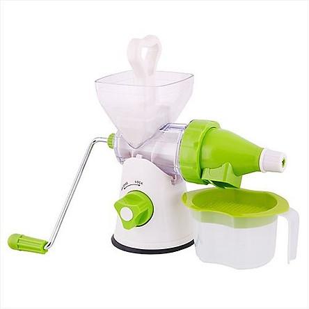 Máy xay ép hoa quả bằng tay đa năng Manual Juicer nhỏ gọn, tiện dụng, độ bền cao, chất liệu nhựa ABS an toàn cho người sử dụng