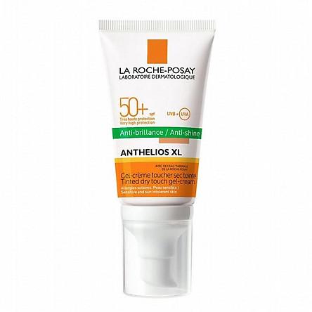 La Roche-Posay - Kem Chống Nắng Làm Đều Màu Da, Kiểm Soát Bóng Nhờn Cho Da Nhạy Cảm  Anthelios XL Tinted Dry Touch Gel - Cream 50ml