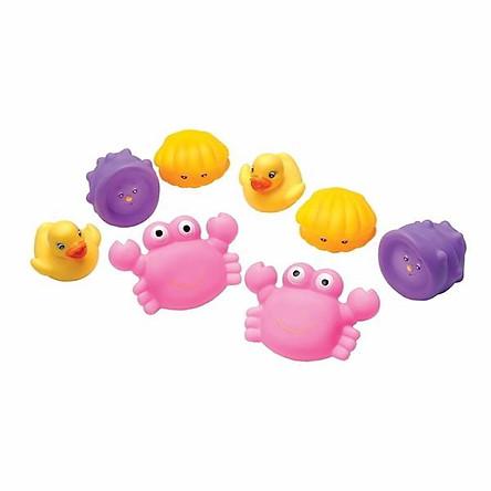 Bộ đồ chơi khi tắm bằng nhựa mềm Playgro - Cua hồng