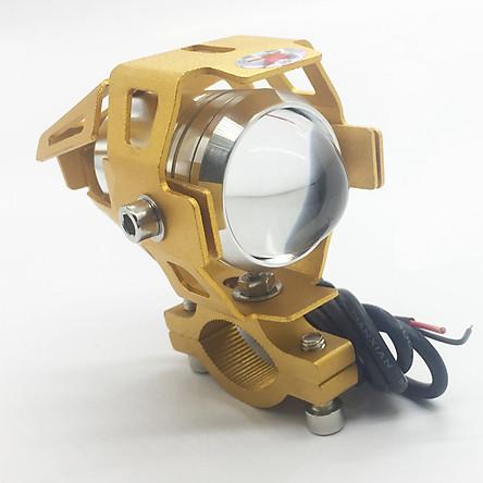 Đèn pha trợ sáng Moto tản nhiệt U1 - Giao màu ngẫu nhiên