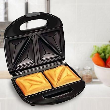Máy nướng bánh mỳ tam giác tại nhà