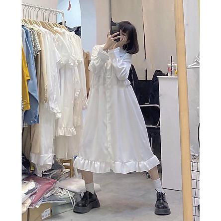 Váy Babaydoll Form Rộng Ngố - DA05