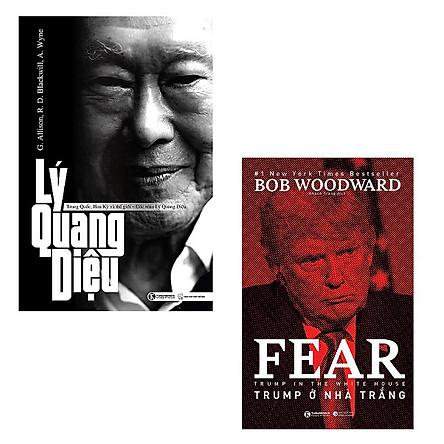 Bộ 2 cuốn sách hay về nguyên thủ quốc gia: Lý Quang Diệu - Trump Ở Nhà Trắng
