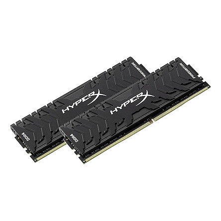 Bộ 2 Thanh RAM PC Kingston 8GB HyperX Predator Black (2 x 4GB) DDR4 3000MHz HX430C15PB3K2/8 - Hàng Chính Hãng