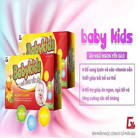 (Combo 2 Hộp) Babykids Yến Sào-Siro Ăn Ngủ Ngon