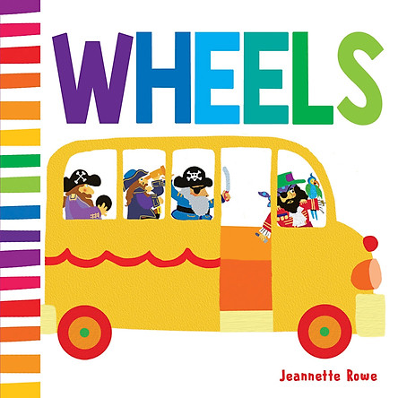 sách : Baby Board Book Wheels ( sách nhập khẩu )
