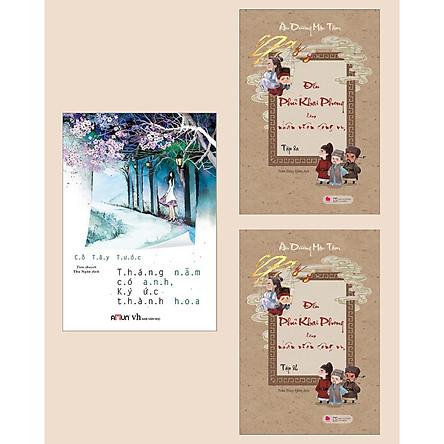 Combo Sách Hay: Tháng Năm Có Anh, Ký Ức Thành Hoa + Đến Phủ Khai Phong Làm Nhân Viên Công Vụ (Tập 8A + 8B) / Tiểu Thuyết Lãng Mạn Hấp Dẫn