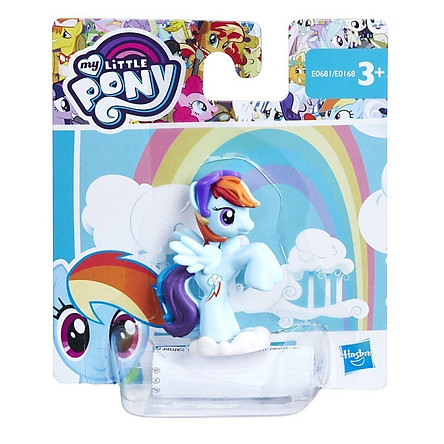 Đồ Chơi Búp Bê MY LITTLE PONY Ngựa Thiên Thần Rainbow Dash E0681/E0168