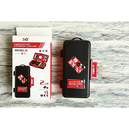Hộp đựng thẻ nhớ và pin máy ảnh Lensg D950