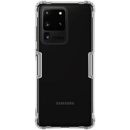 Ốp lưng cho Samsung Galaxy S20 Ultra (S20 Ultra 5G) silicon Nillkin chống sốc - Hàng chính hãng