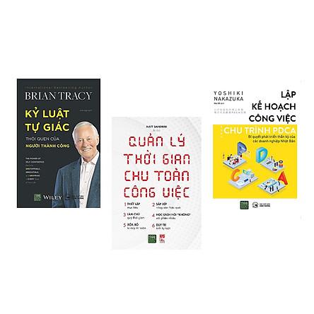 Combo 3 Cuốn Sách Giúp Bạn Quản Lý Bản Thân Tối Ưu Nhất