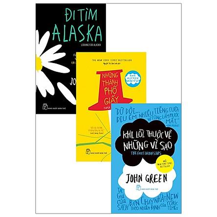 Bộ Sách Tác Giả John Green: Đi Tìm Alaska + Những Thành Phố Giấy + Khi Lỗi Thuộc Về Những Vì Sao (Bộ 3 Cuốn)