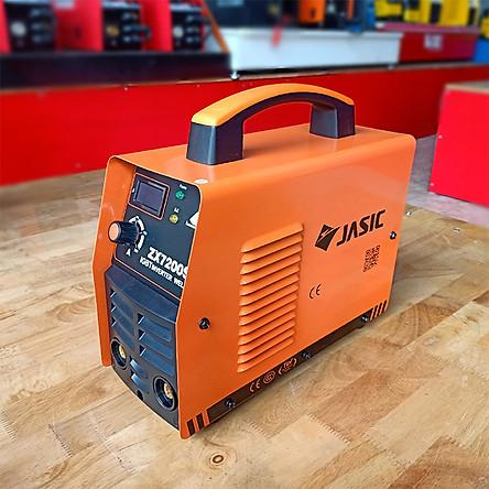 Máy hàn JASIC ZX7200S - Chính Hãng - Công Nghệ Hàn IGBT Hiện Đại Tặng Kèm Bộ Dây Kìm Hàn 4 Mét Kẹp Mát  2 Mét.