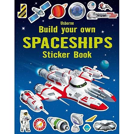 Usborne Build your own Spaceships Sticker book