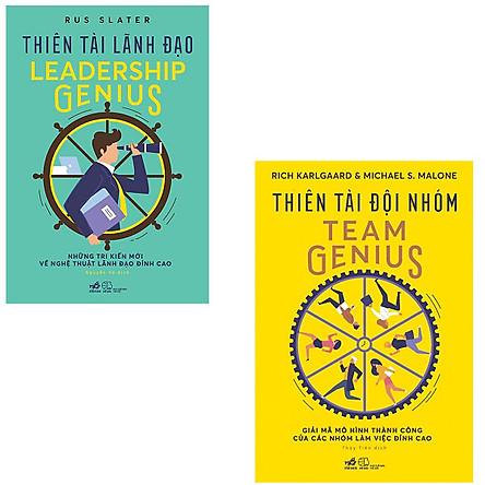 Combo Thiên Tài Lãnh Đạo + Thiên Tài Đội Nhóm Team Genius