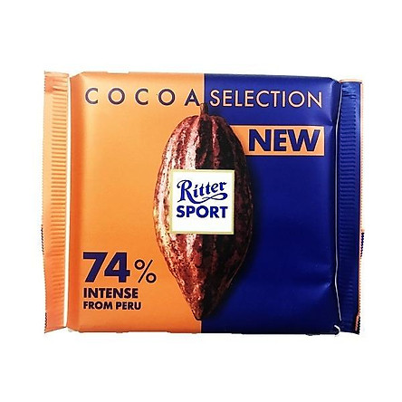 Ritter sport - Sôcôla cacao 74% 100g