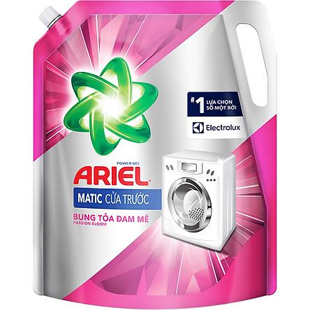 Nước Giặt Ariel Cửa Trước Hương Đam Mê Dạng Túi (2.15Kg/Túi)