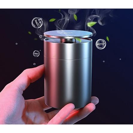 Máy lọc không khí ô tô xiaomi loại bỏ formaldehyde và mùi hôi trong ô tô