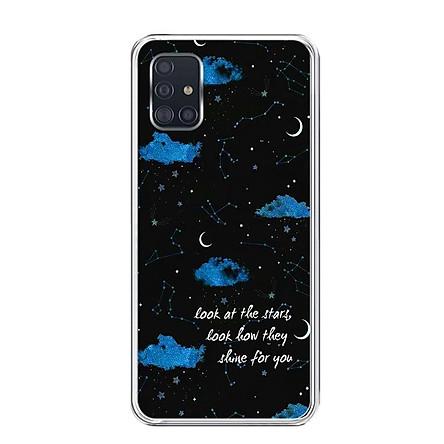 Ốp lưng dẻo cho điện thoại Samsung Galaxy A51 - 0464 SHINEFORYOU - Hàng Chính Hãng
