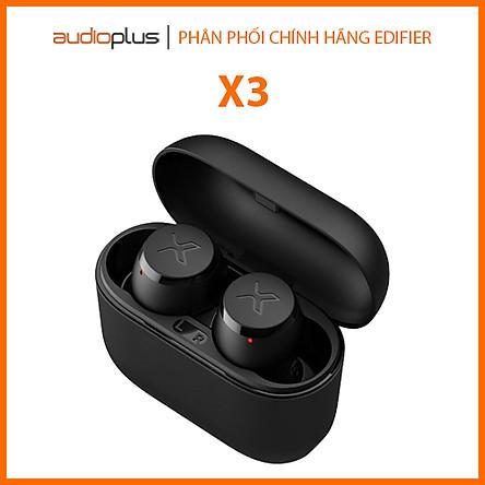 Tai nghe bluetooth true wireless Edifier X3 Đen (Bản quốc tế) – Hàng Chính hãng