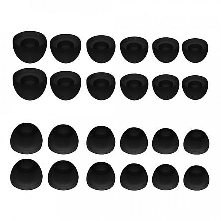 Đệm Tai Nghe Silicone S M L (4.5mm) (12 Cặp 24 Cái)